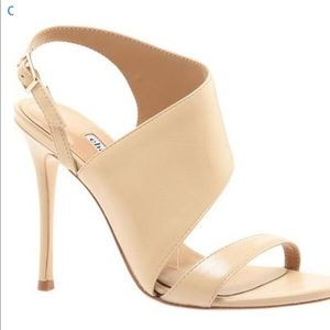 Charles David Olso Size 8 Nude Heels (New in Box)